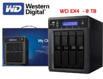 WESTERN DIGITAL  My Cloud EX4   - 8 TB